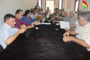 الأمانة العامة للمجلس الوطني الكردي تنهي اجتماعها وتخرج بقرارات ودعوة إلى اعتصامات في سائر المدن الكردية