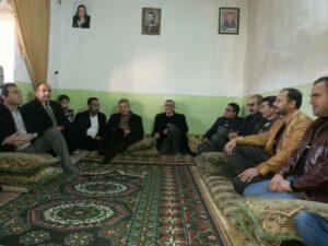 قيادة حزب يكيتي الكردي تزور المفرج عنه من سجون الـ PYD هيثم حسو