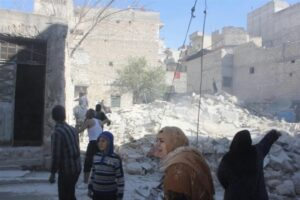 42 مدنياً ضحايا القصف العشوائي للمجموعات المسلحة على حي الشيخ المقصود في حلب